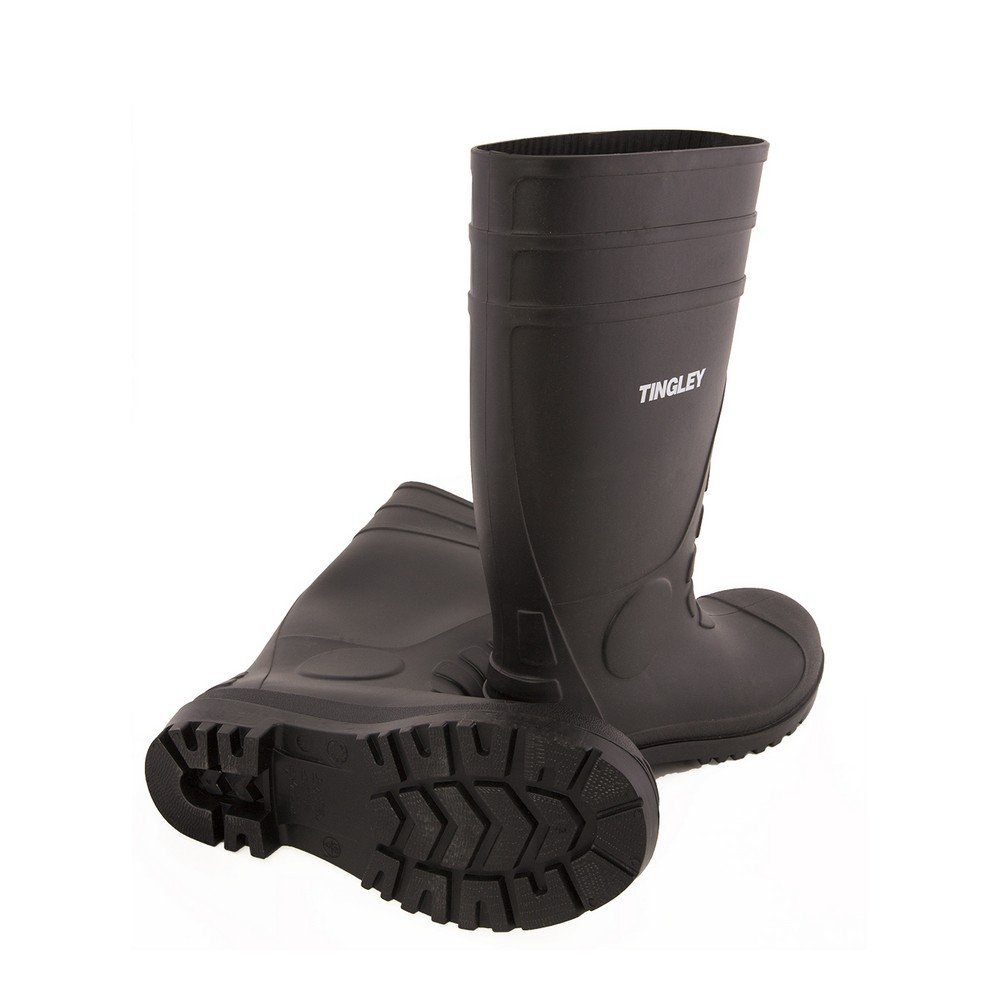 TINGLEY 31151 Economy SZ13 Kneed Boot for Agriculture, 15-Inch, Black