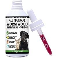 Tratamiento completamente natural para lombrices en perros y gatos | Más fácil de administrar que las