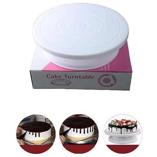 haplain decoración de pasteles Turntable soporte de tuberías de ...