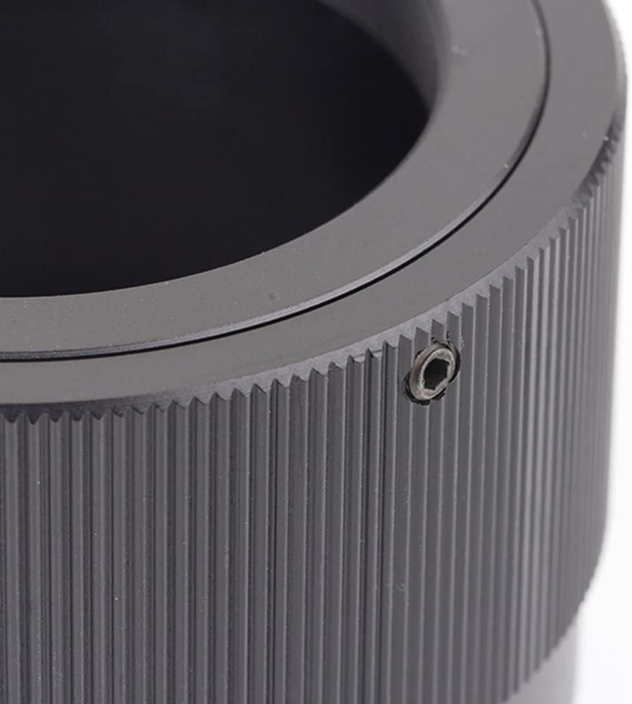 Pixco Lens Adapter Suit for T Mount T-2 T-ring Lens to EOS /·M Camera M50 M6 M5 M10 M3 M2 T2 -Canon EOS /·M
