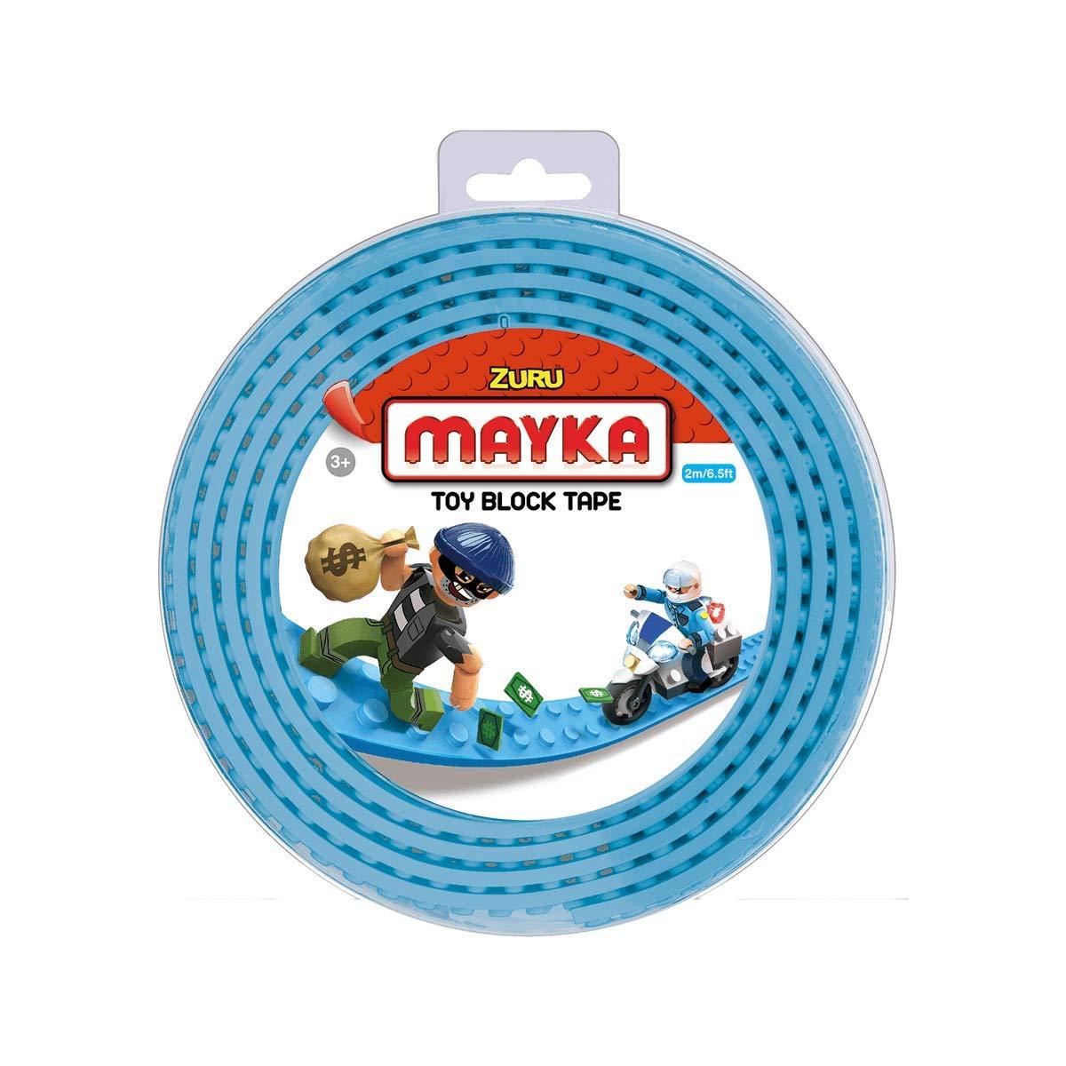 Zuru Mayka Tape - 2 Stud Light Blue 2 Metres: Amazon.co.uk: Toys & Games