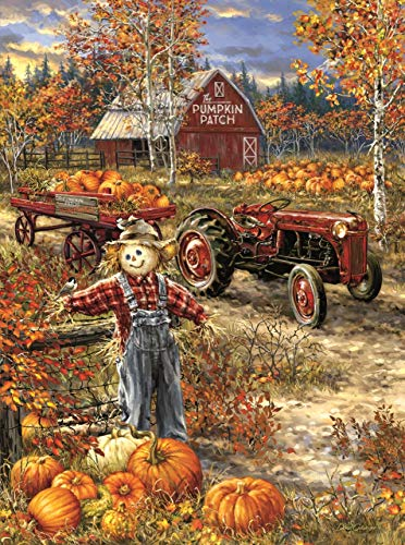 The Pumpkin Patch Farm 1000 pc Jigsaw Puzzle