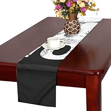 Brilliant Amazon Com Hand Draw Wolf Portrait May Be Table Runner Pabps2019 Chair Design Images Pabps2019Com