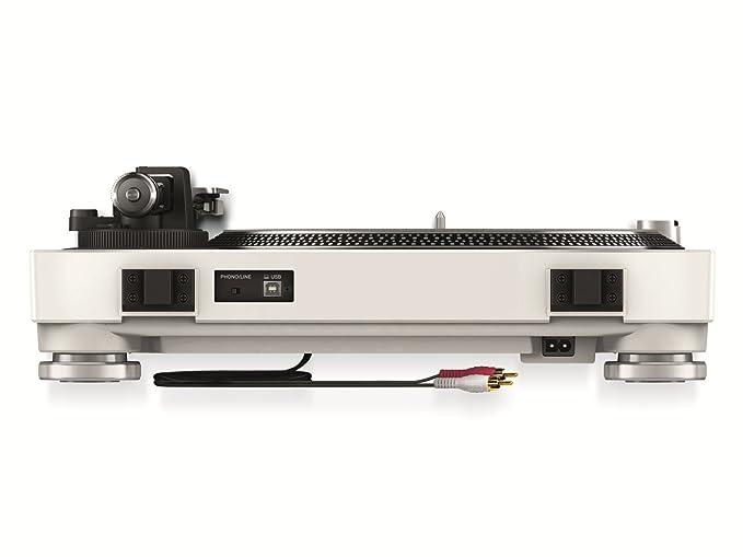 Pioneer PLX-500 Direct drive DJ turntable Blanco - Tornamesas para dj (Direct drive DJ turntable, 33 1/3,45,78 RPM, 0,15%, 50 dB, 1,6 kg/cm, 1 s)