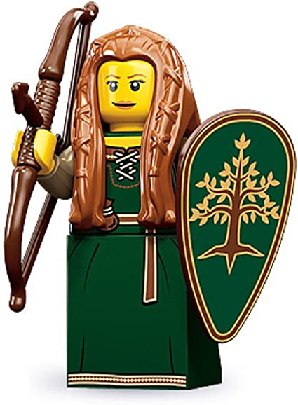 Amazon.com: Lego 71000 Series 9 Minifigure Forest Maiden: Toys & Games