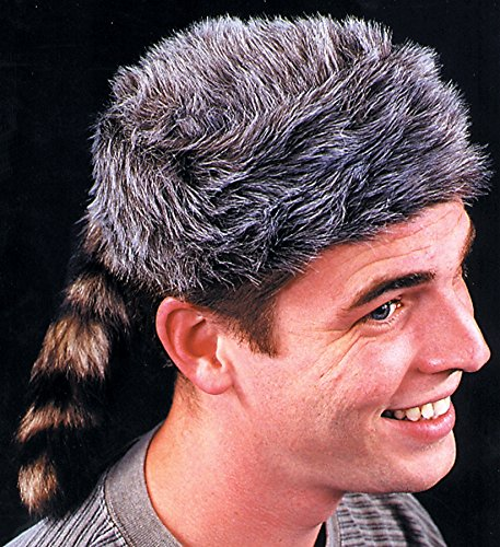 (Jacobson Hat Company Halloween Party Creepy Scary Costume Coonskin Cap 1)