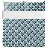 Flowers Of Koran Duvet Bed Set 3 Piece Set Duvet Cover - 2 Pillow Shams - Luxury Microfiber, Soft, Breathable