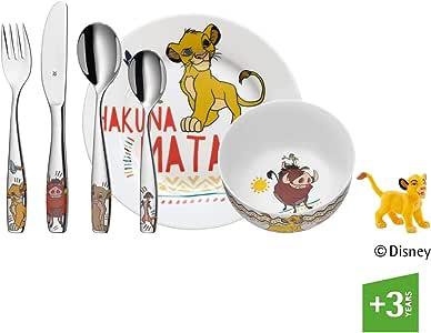WMF Disney El Rey León - Vajilla para niños 6 piezas, incluye ...