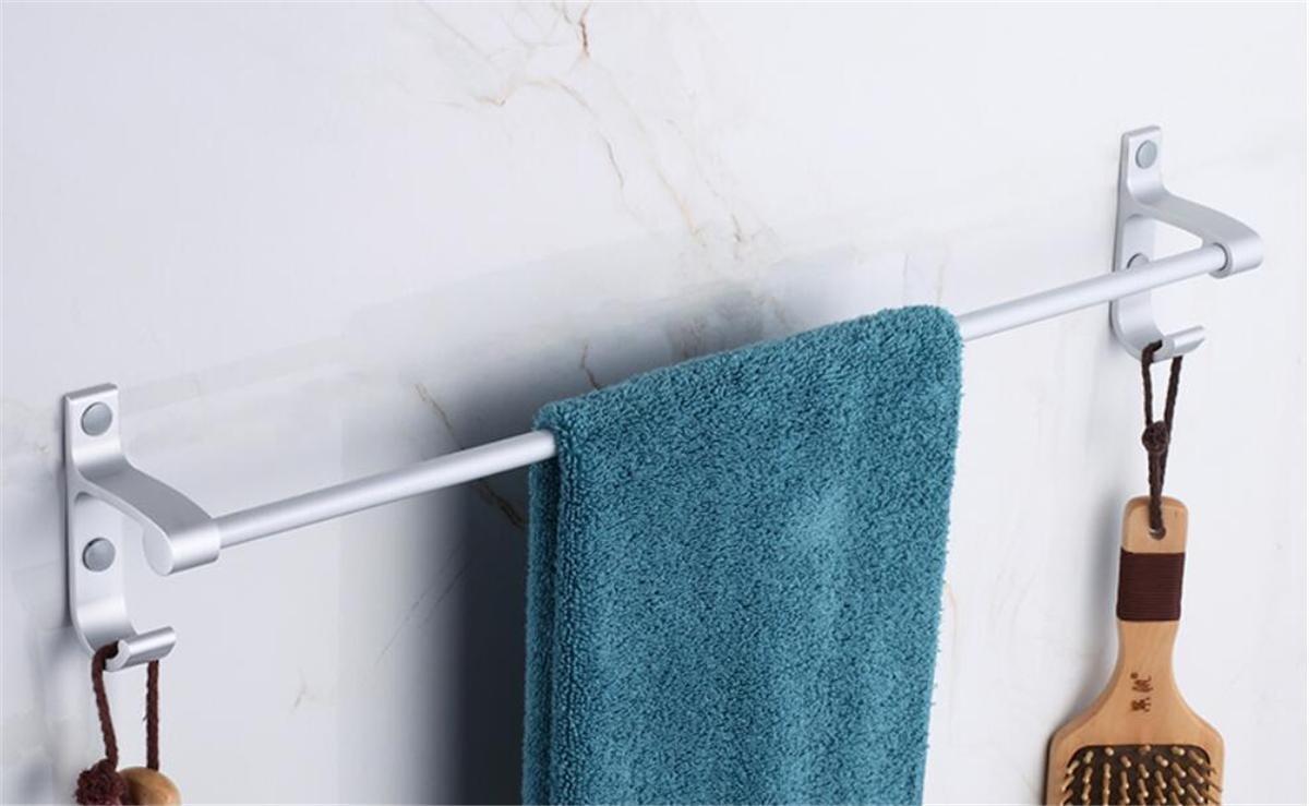 Amazon.com: Towel Rails Rings Racks Holders Bath Hooks Bathroom ...