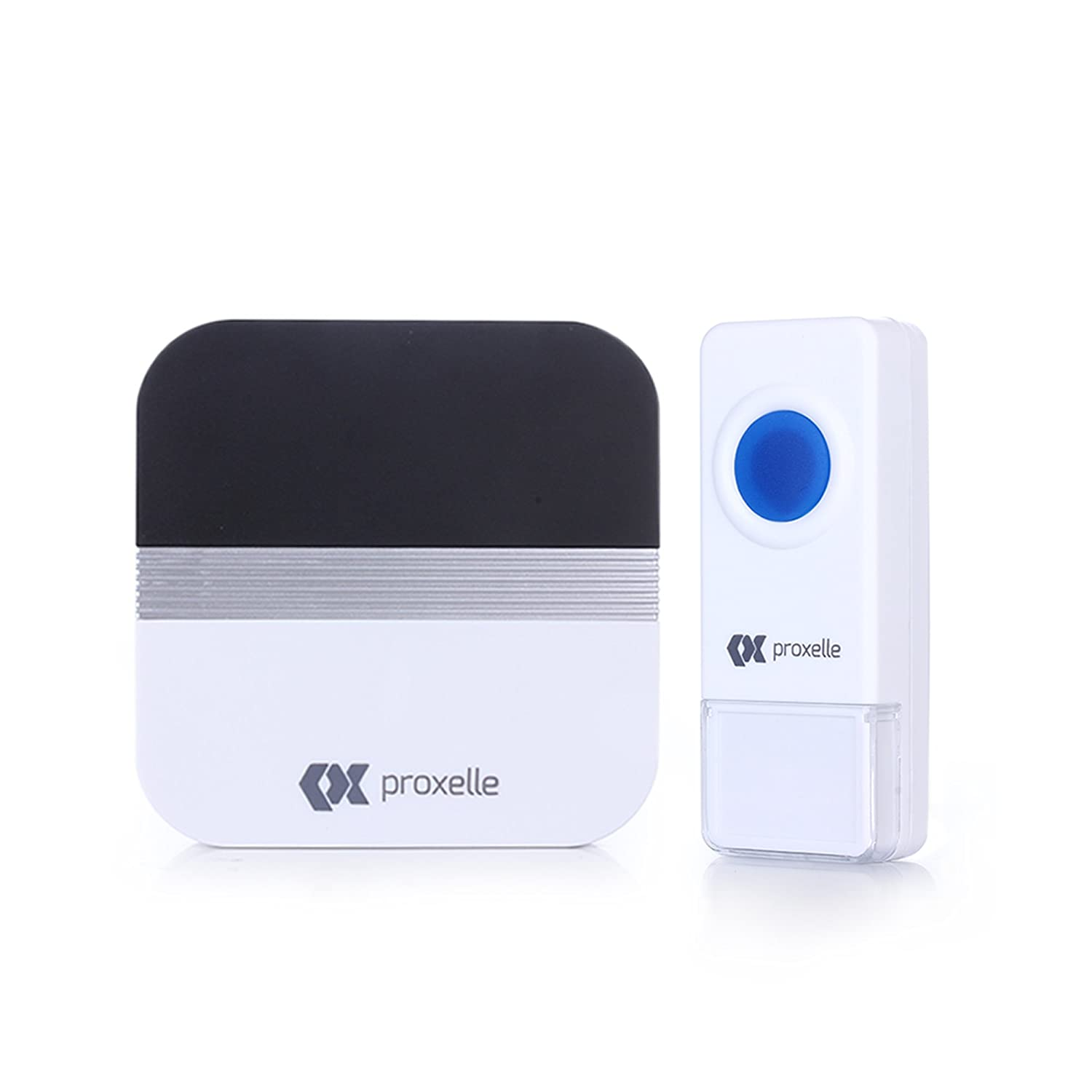 Proxelle Wireless Doorbell Chime Kit Remote Button with Receiver 52