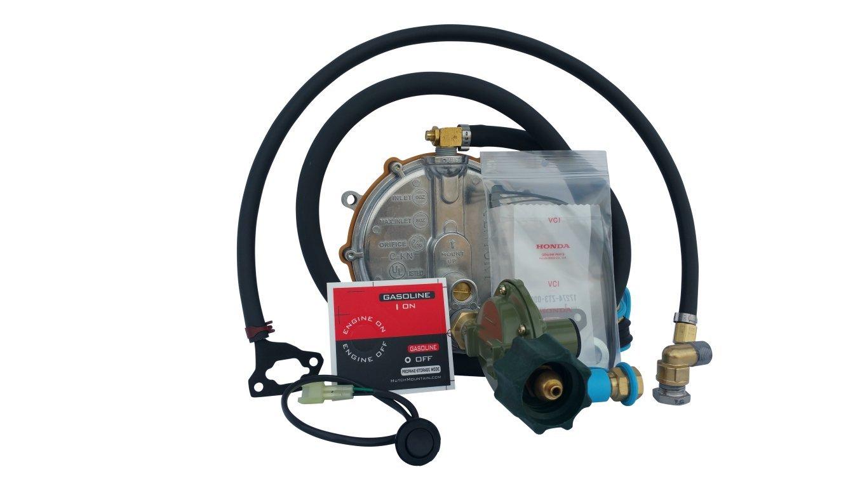 Hutch Mountain Honda EU2200i Propane, Natural Gas & Gasoline Generator TriFuel Kit