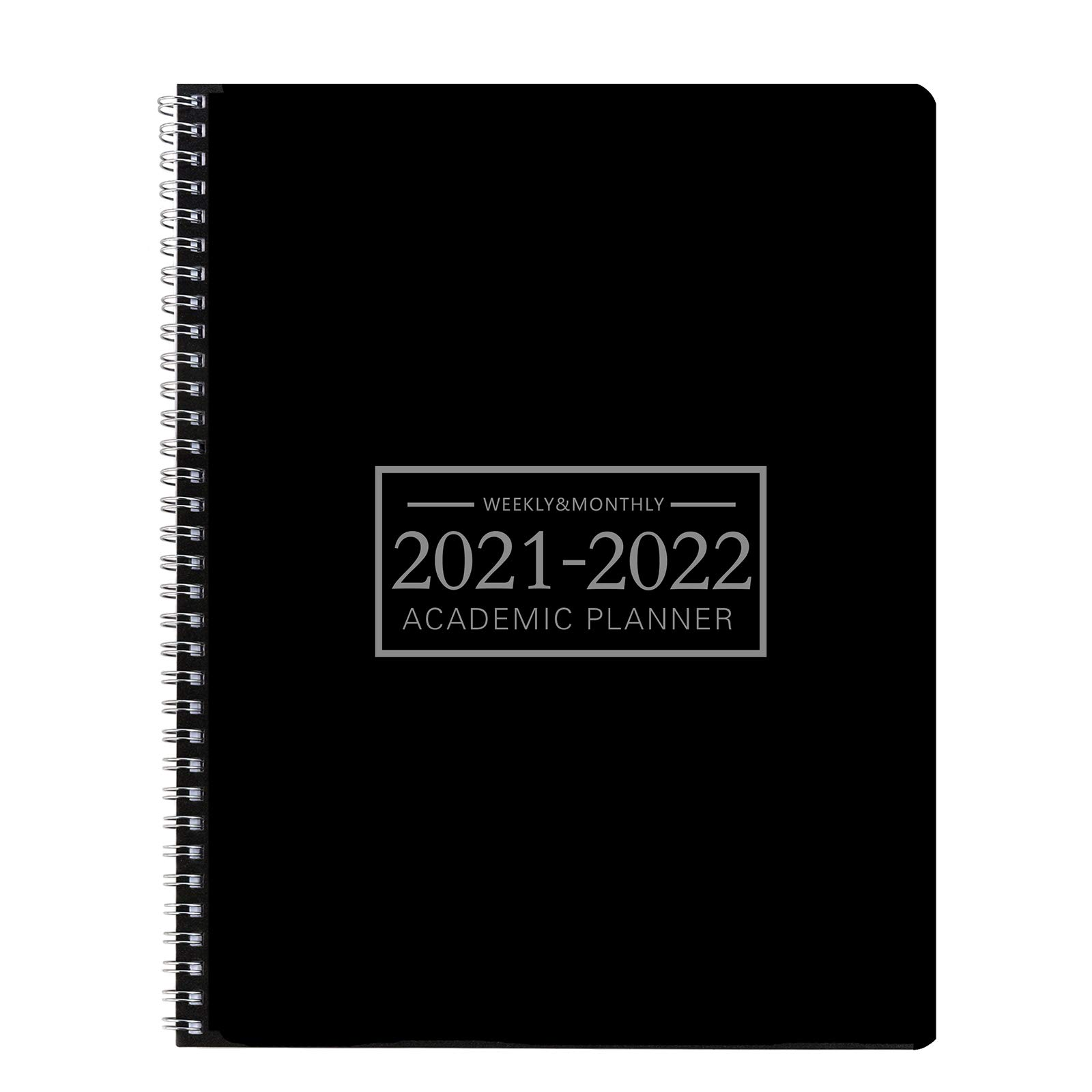 Office Planner Jan 2021- Dec 2022 Monthly Calendar Planner -8.7×11.2 Time Management Personal Planner Hard PVC Cover with Spiral Bound