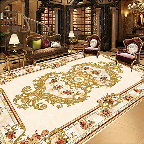Ohcde Dheark Customize 3D Mural Wallpaper European Style Modern Luxury Ceiling Murals Hotel Hall Bedding Room Backdrop Home Decor Wall Papers 300Cmx210Cm(118.1 By 82.7 In)