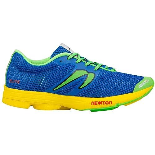 Newton Running Distance Elite para Mujer, Azul (Azul), 42 EU: Amazon.es: Zapatos y complementos