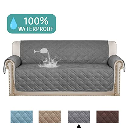 amazon com turquoize 100 waterproof dog couch cover quilted sofa rh amazon com best washable sofa covers washable sofa pillow covers