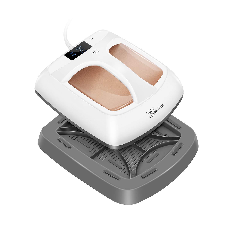 "PowerPress HPM-0000-GD Heat Press Machine Portable-Gold,12""x10"""