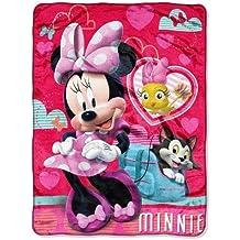 "Disney Minnie Mouse Silk Touch Throw - 46"" x 60"""