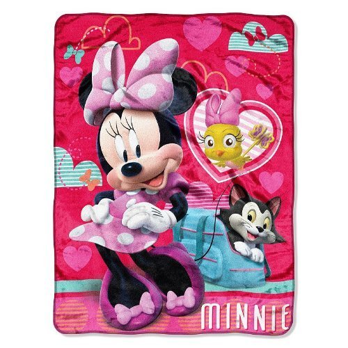 "Disney Minnie Mouse Silk Touch Throw - 46"" x 60"""