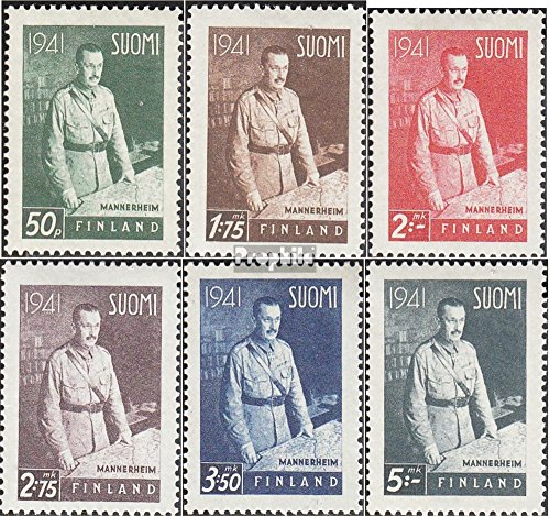 Finland 248X-253X (Complete.Issue.) 1941 Freedom Fight Finland (Stamps for Collectors)