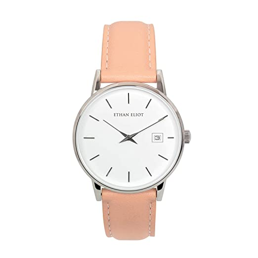 Amazon.com: Ethan Eliot Reloj clásico para mujer, Lexington ...