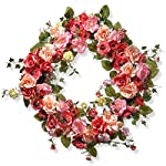 50pcs Bulk Rose Leaves Artificial Greenery Silk Leaf Green Artificial Leaves Flower DIY Green Rose Leaves Artificial Leaf Home Decorative Christmas Party Decoration Bouquet Wreaths Wedding Decor