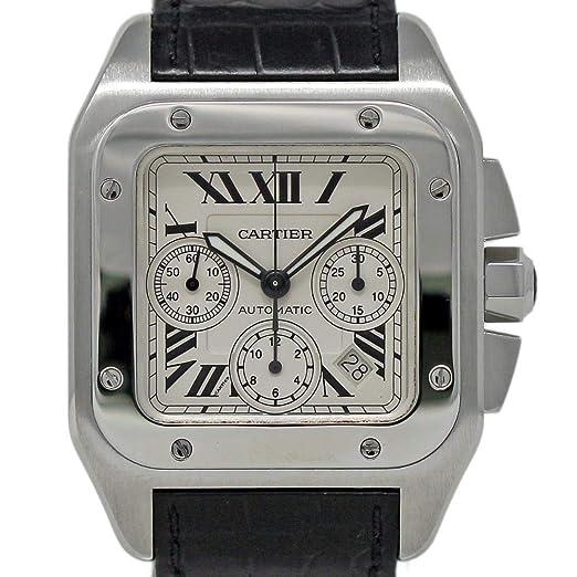 7b8bbc4d0bbba Cartier Santos 100 Swiss-Reloj automático Macho W20090X8 (Certificado  pre-Owned)