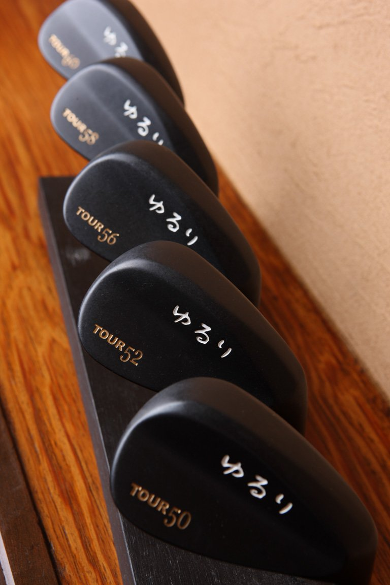 YURURI GOLF JAPAN KEIGEKIKU TOUR MODEL WEDGE 60 deg Head Only 2017