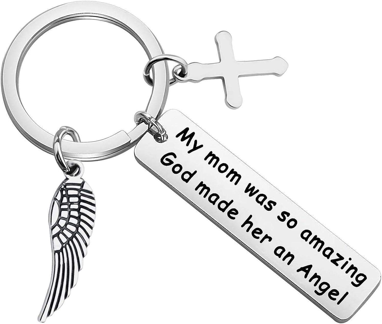 Son Daughter Charm Jewelry Grandma Mom Memorial Bracelet Gift for Loss Sister Grandpa Dad Brother Sympathy Charm Bangle Bracelet