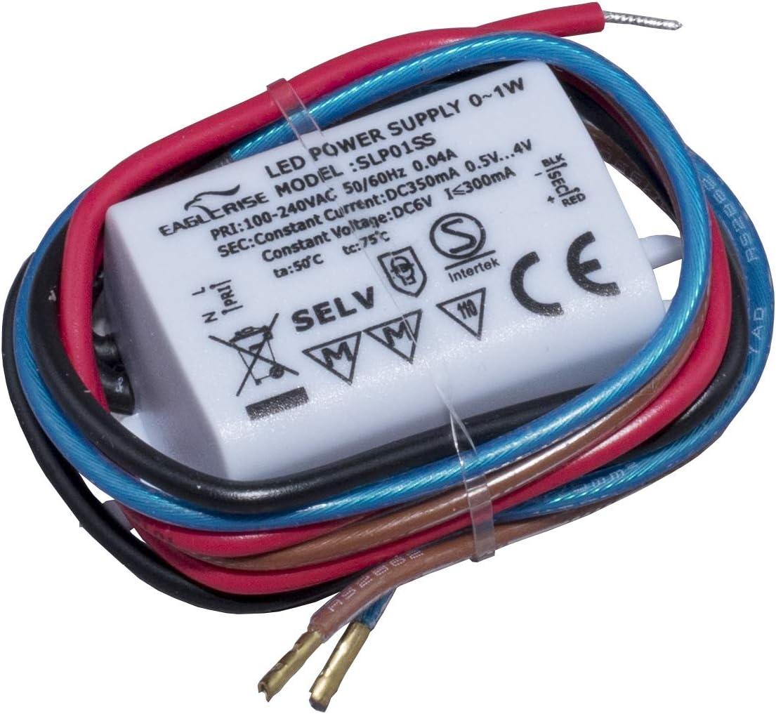 HuaTec Eaglerise LED Trafo 350mA 12W Wasserdicht IP65 LED Netzteil Driver Treiber Transformator Konstantstrom