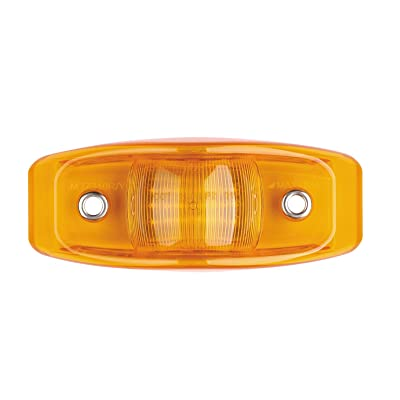 Maxxima M27340Y Amber LED Bus Clearance Marker Light: Automotive [5Bkhe0907716]
