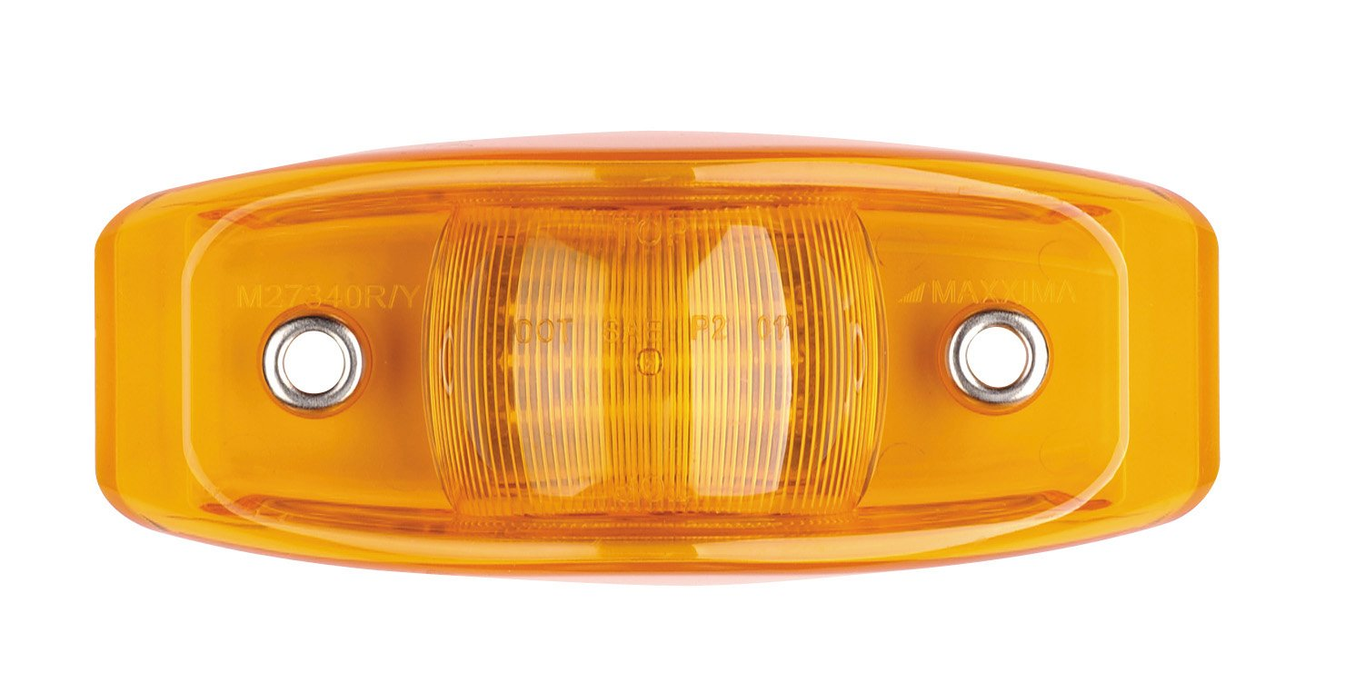 Maxxima M27340Y Amber LED Bus Clearance Marker Light