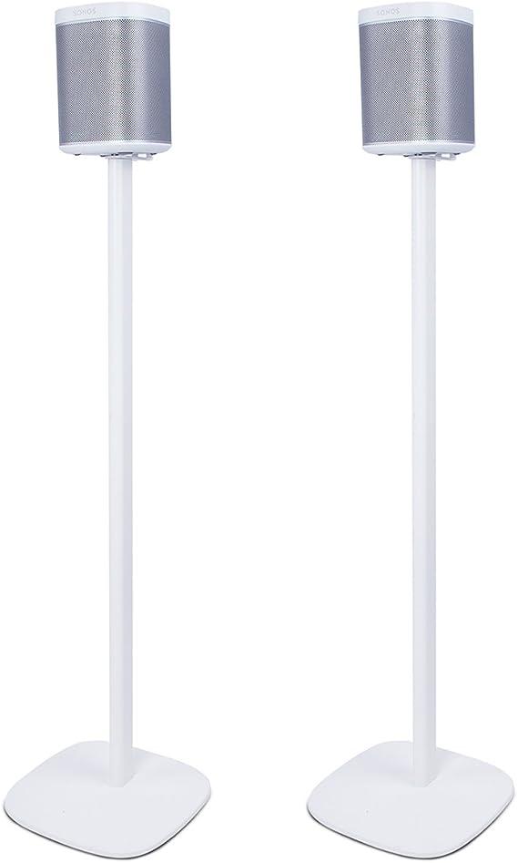 Pieds dEnceintes pour Enceintes Satellites et Haut-parleurs Hi-FI Paire de Pieds dEnceintes avec Gestion des C/âbles Int/égr/ée pour JBL Bose Polk Sony Yamaha Eono by Home Cinema