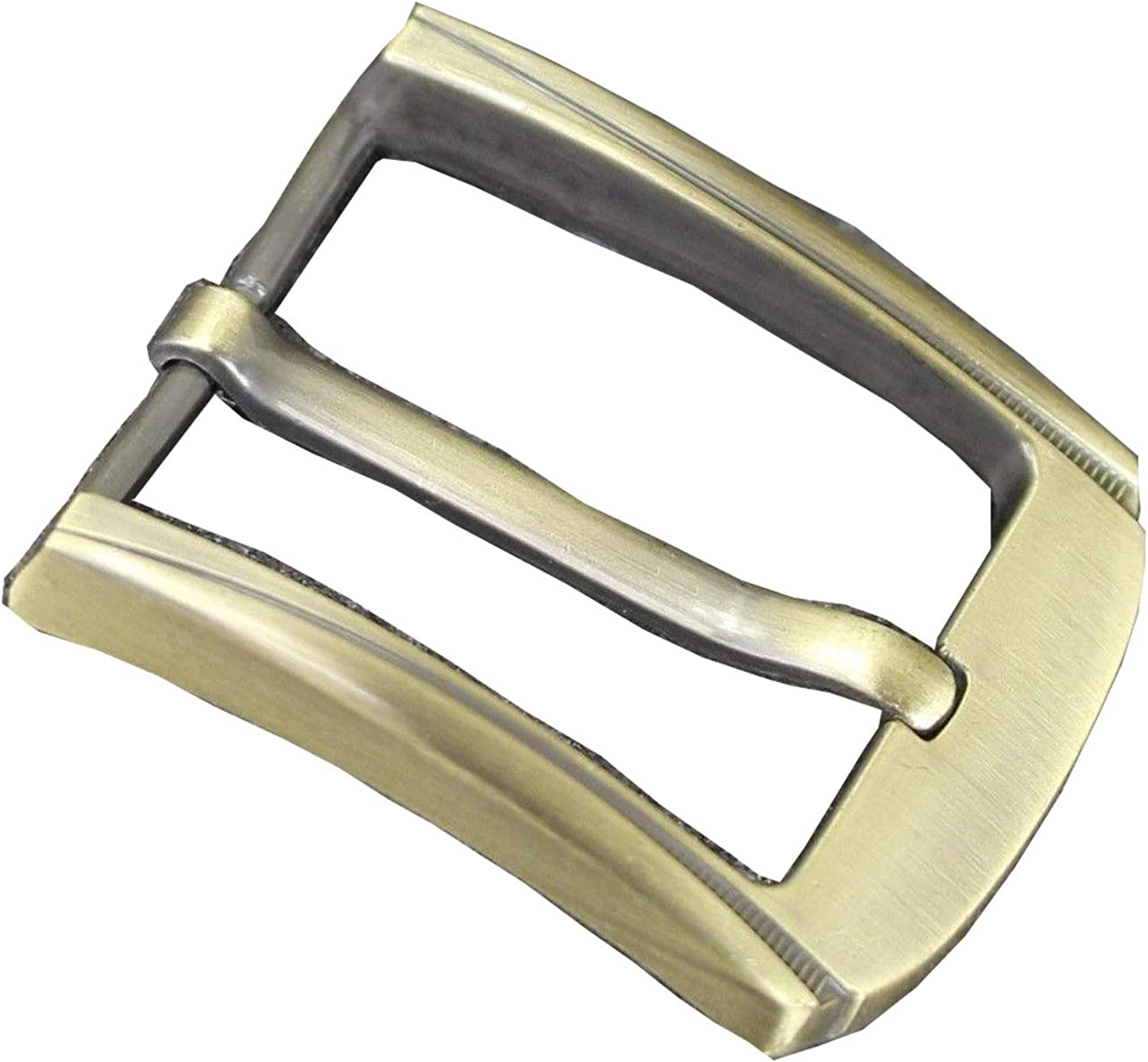 Buckle for Belt Men Silver Brass Grey Metal Casual Formal Size 38, 40, 41 mm in square buckle