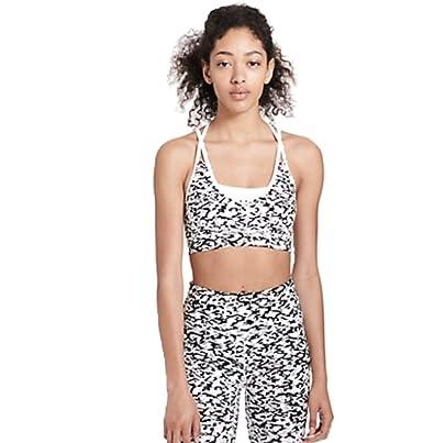 0e812361032e5 Calvin Klein Performance Womens Fitness Running Sports Bra B W XL White  Combo