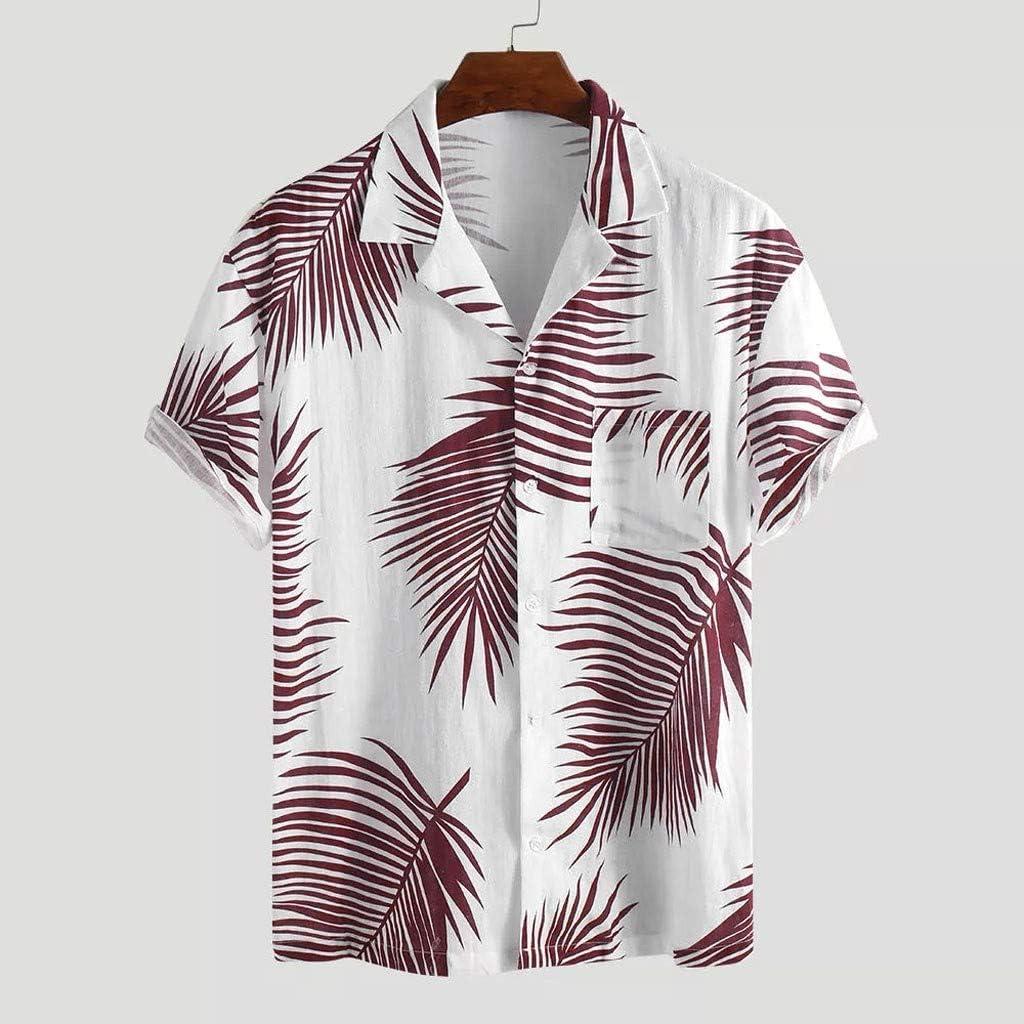 nightfall Mens Hawaiian Surfboard Print Shirt Short Pocket Sleeve Summer Beach Shirts