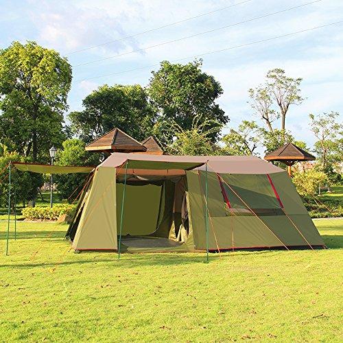Xmaker Outdoor-Gruppen, Zwei Zimmer, Eine Halle, Regenzelt Zelt, Großer Raum.