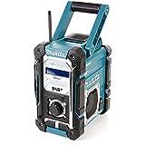 Mak DMR112 10.8V / 18V CXT/LXT Bluetooth & DAB + Digital Job Site Radio, 10.8 V