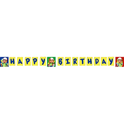 Handy Manny Banner 8ft: Toys & Games