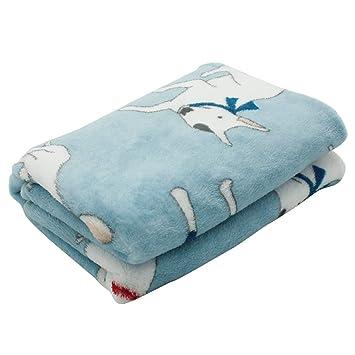 Amazon.com: Scheppend - Manta de franela para cama de perro ...