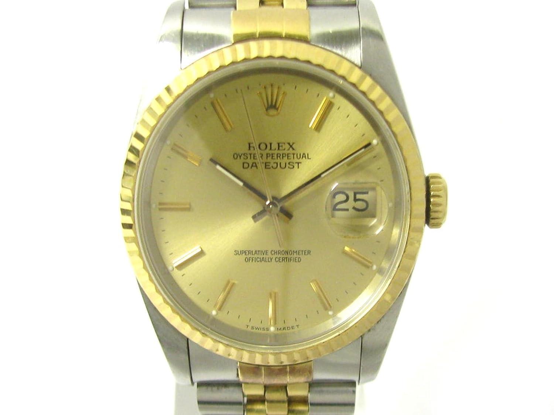 [ロレックス] ROLEX デイトジャスト ゴールド ステンレススチール(SS) XK18YG イエローゴールド 16233/89年 [中古] B07F8RPG6V