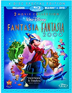 Fantasia / Fantasia 2000 (Four-Disc Blu-ray/DVD Combo)