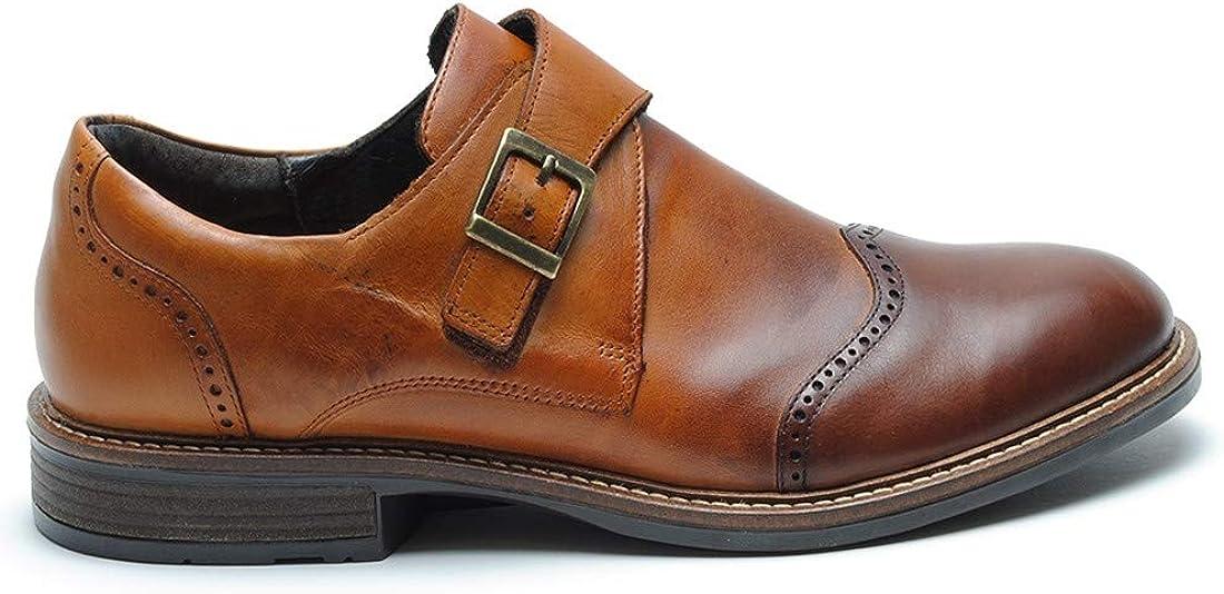 US Mens 13 NAOT Mens Evidence Cognac Brandy Leather 46 M EU