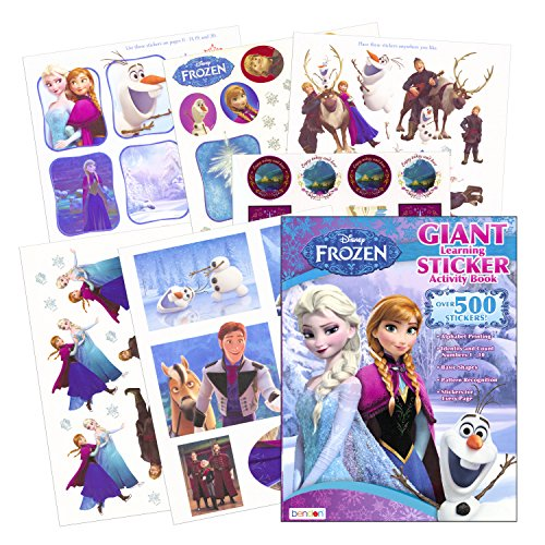 Disney Frozen Sticker Activity
