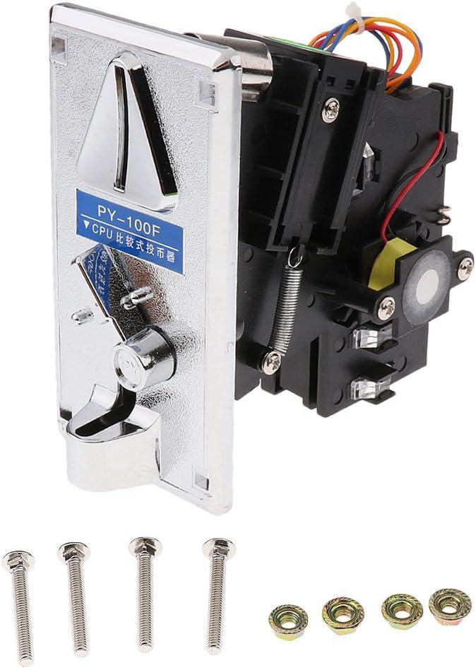 Aleación De Plástico Monedero Electrónico Aceptor Selector Expendedora Juego De Arcade Py-100f
