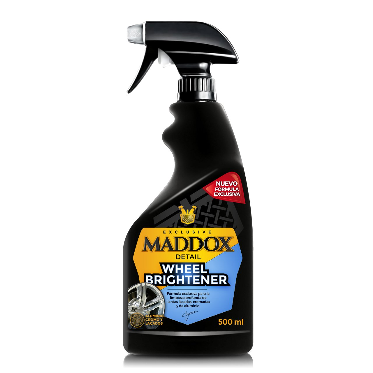 Maddox Detail- Wheel brigthtener - Pulitore Cerchi e Gomme Detergente (500 ml) Maddox Automoción S.L.