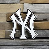 Authentic Street Signs 94045 12 in. Yankees New York Steel Logo