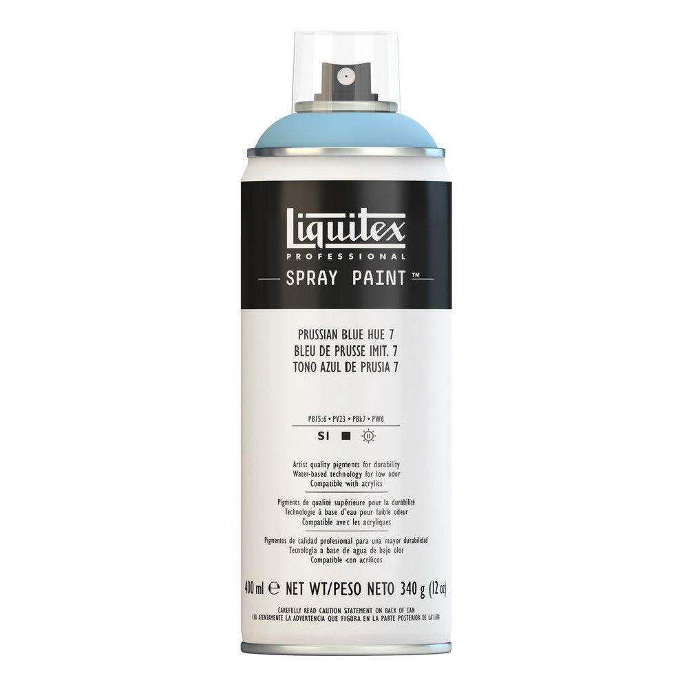 Liquitex プロフェッショナル スプレーペイント 12オンス 400ml Can ブルー 4457320 B008N7HN4S Prussian Blue Hue 7 Prussian Blue Hue 7