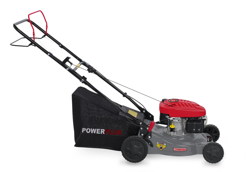 Powerplus POWEG63772 Walk behind lawn mower Gasolina Negro, Gris ...