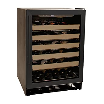 haier wine cooler 18 bottle. haier hvce24cbh built-in or freestanding 50-bottle wine cellar with led display cooler 18 bottle