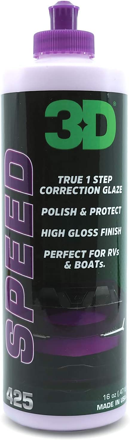 3D Speed All-in-One Polish and Wax